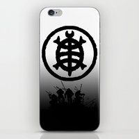 tmnt iPhone & iPod Skins featuring TMNT by sokteulu