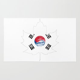 Korea/Canada Rug