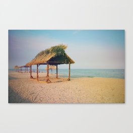 By the beach Canvas Print