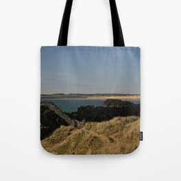 Towards Malltraeth Beach Tote Bag