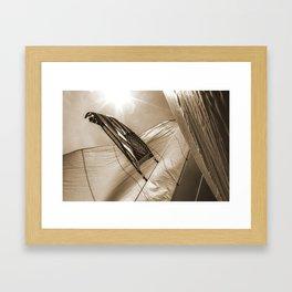 Pride in Our Sails Framed Art Print