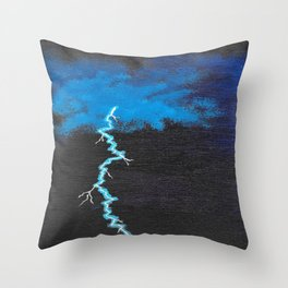 Power From the Heavens Throw Pillow