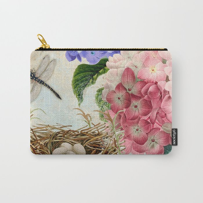 Vintage Flowers #14 Carry-All Pouch