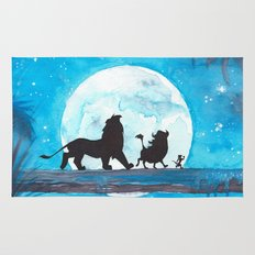 The Lion King Stencil Rug