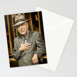 Leonard Cohen Stationery Cards