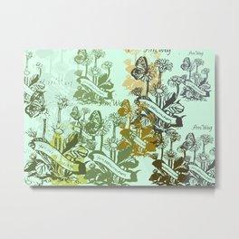 splintered daisies Metal Print