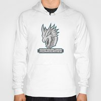 monster hunter Hoodies featuring Monster Hunter All Stars - The Dondruma Hurricanes by Bleached ink