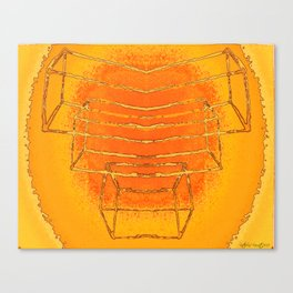 Pumpkin Dance Canvas Print