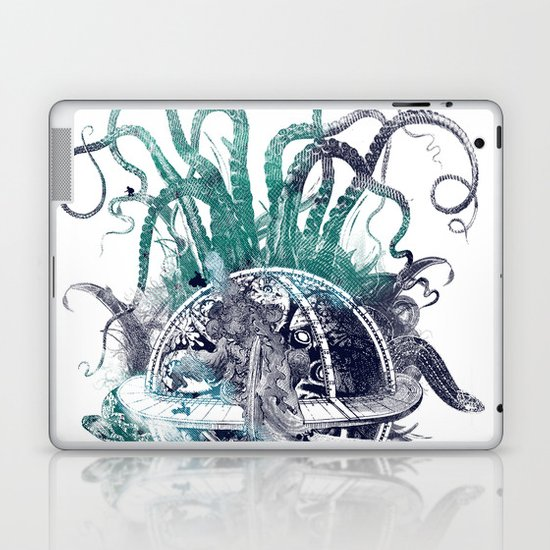 strange artefact amusement park Laptop & iPad Skin