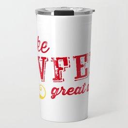 Make COVFEFE great again! Travel Mug
