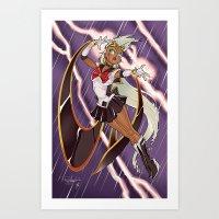 Xailor Storm Art Print