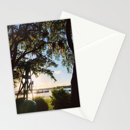 Sunset at Skull Creek | Hilton Head Island, SC Stationery Cards