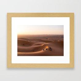 Berber Sunrise Framed Art Print