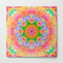 Energy Star Mandala Metal Print
