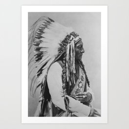 Chief Sitting Bull Art Print