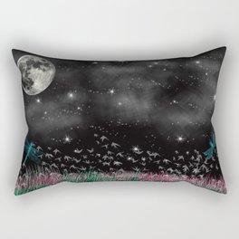 Night Critters Rectangular Pillow