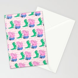 Peppa Pg Pattern 04 Stationery Cards