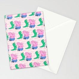 Peppa Pg Pattern 04 Stationery Cards