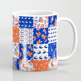 Florida University gators swamp life varsity team spirit college football quilted pattern gifts Coffee Mug