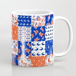 Florida University gators swamp life varsity team spirit college football quilted pattern gifts Coffee Mug
