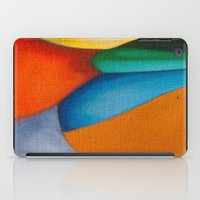literary iPad Cases featuring No Meio do Caminho (In The Middle Of The Road) by Fernando Vieira