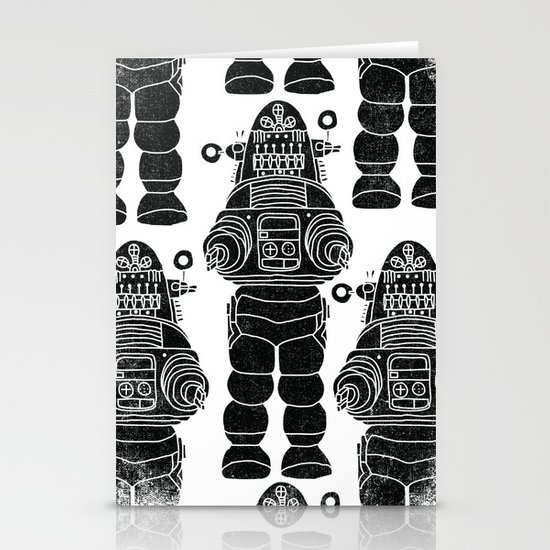 ROBBY THE ROBOT Stationery Cards