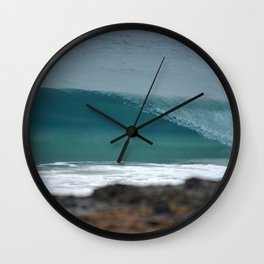 Breaking Wave Wall Clock