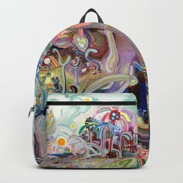 Walking with Elephants Backpack