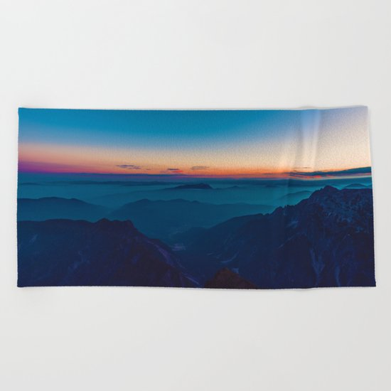 Slovenia Beach Towel