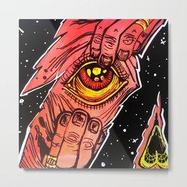 Cosmic Hitchhiker, 2015 Metal Print