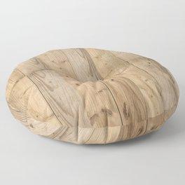 Wood Planks Light Floor Pillow