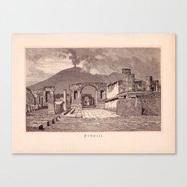 Pompeji Canvas Print