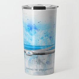 Klm Boeing 787 Dreamliner Travel Mug