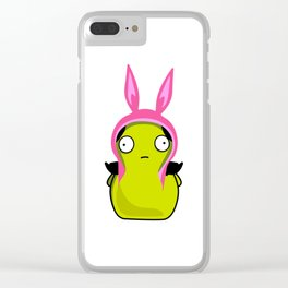 Louise Kopi Clear iPhone Case