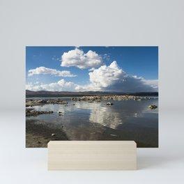 Mono Lake (mono moh-noh) is a large shallow saline soda lake in Mono County California formed at lea Mini Art Print