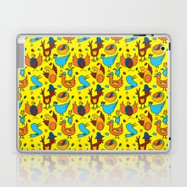Crazy Birds Laptop & iPad Skin