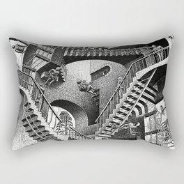 M.C. Escher - Relativity Rectangular Pillow