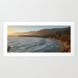 Big Sur Sunset III Art Print