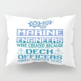 MARINE ENGINEERS Pillow Sham