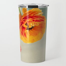 Orange you beautiful Ranculus? Travel Mug