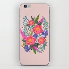 Romantic Blossom, flower print, floral print iPhone & iPod Skin