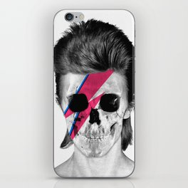 Skull Bowie iPhone Skin