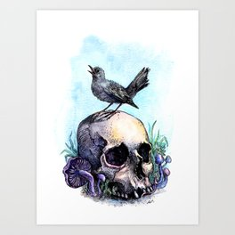 Old friends Art Print