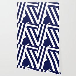 Nautical Stripes Wallpaper