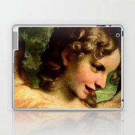 "Antonio Allegri da Correggio ""Madonna of St. Jerome""(detail) Angel Laptop & iPad Skin"
