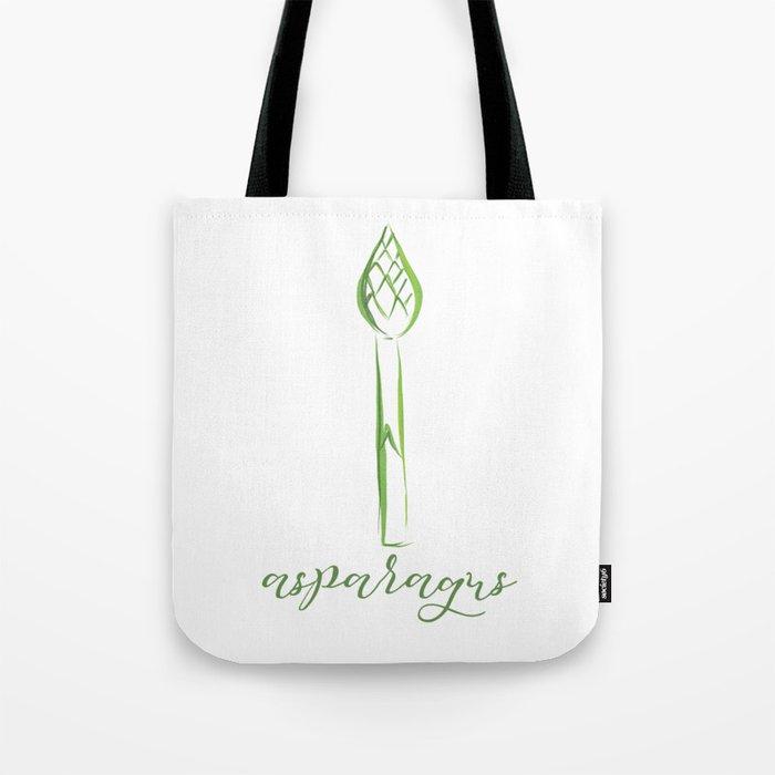 Asparagus Tote Bag