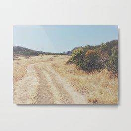 The Path at the Malibu Hike Metal Print