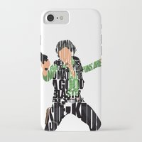 han solo iPhone & iPod Cases featuring Han Solo by Ayse Deniz