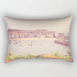 Cornish harbour. Rectangular Pillow
