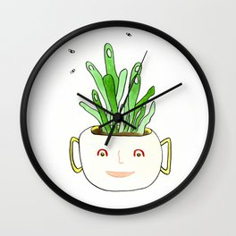 A Plant Guy Wall Clock